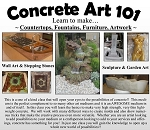 Concrete Art Design Class: April